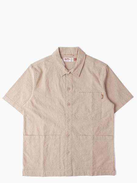Satta Geo Shirt - Sand