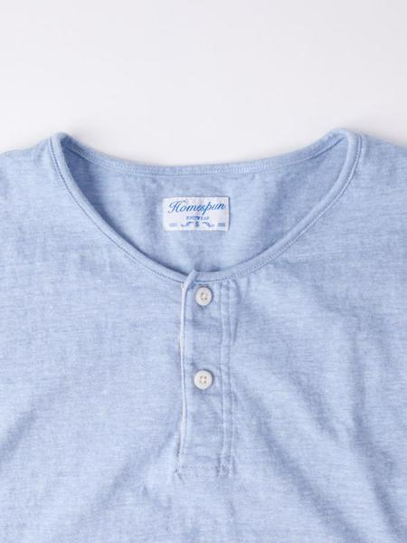 Homespun Great Plains Tee - Chambray