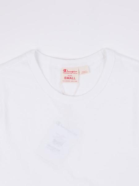 Champion Reverse Weave Jersey Crewneck Tee - White