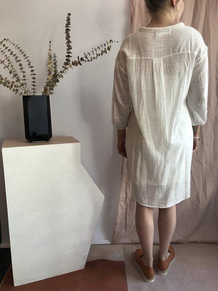 Melissa Nepton Roya Dress - Blanc Casse