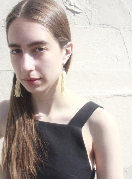 Association Elklyn Willow Earrings - Cream