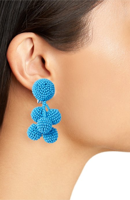 Sachin and Babi Mini Coconuts Earrings - Ocean