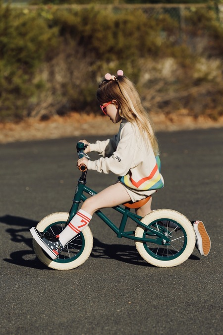 Kids Banwood FIRST GO! Bike - Green