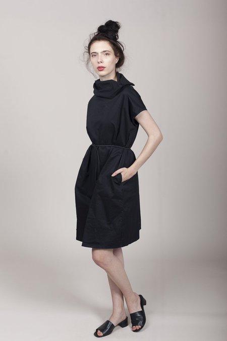 Pip-squeak Chapeau Etc. Muffle Dress - Black