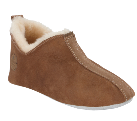 Shepherd of Sweden Lina Slipper - Antique Cognac