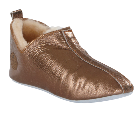 Shepherd of Sweden Lina Slipper - Gold