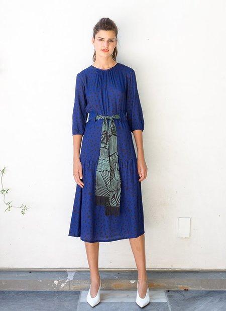 Built by Wendy Pop Dress - Ultramarine