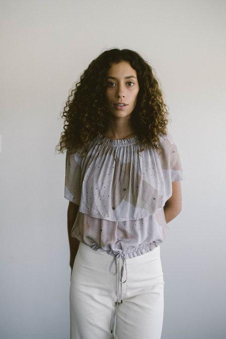 Maria Stanley The Joana Blouse - Lilac