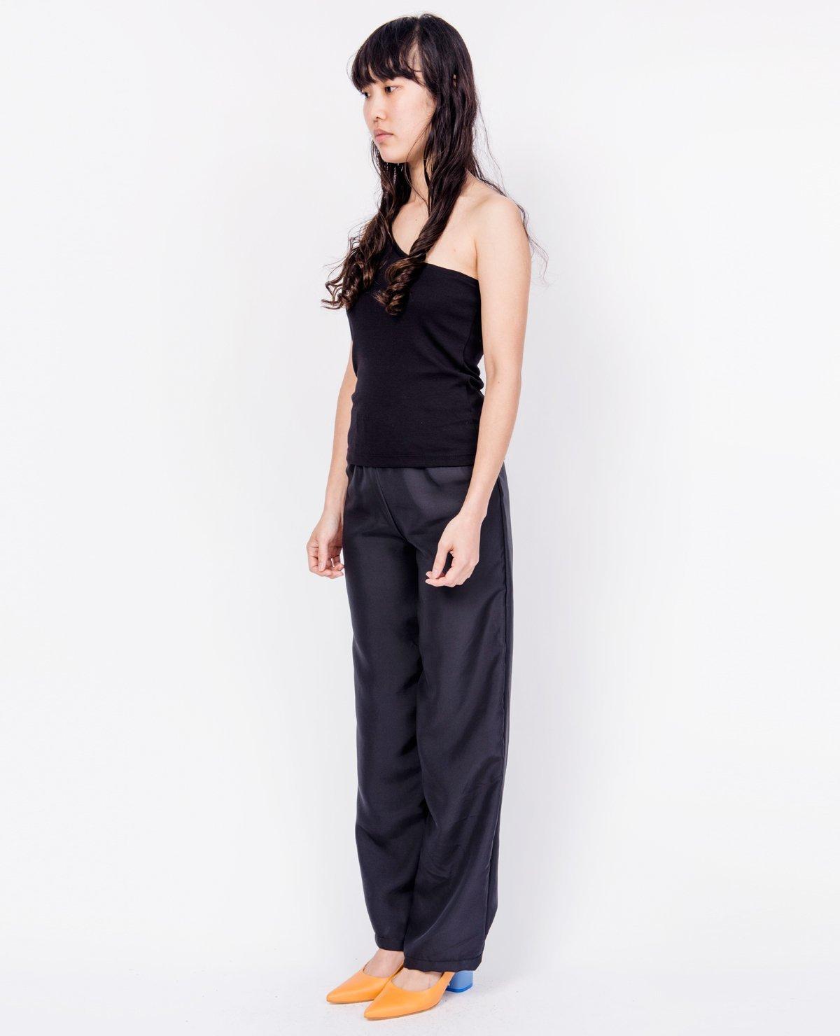 46dc18b7b0c BY SIGNE One Shoulder Top - Black | Garmentory