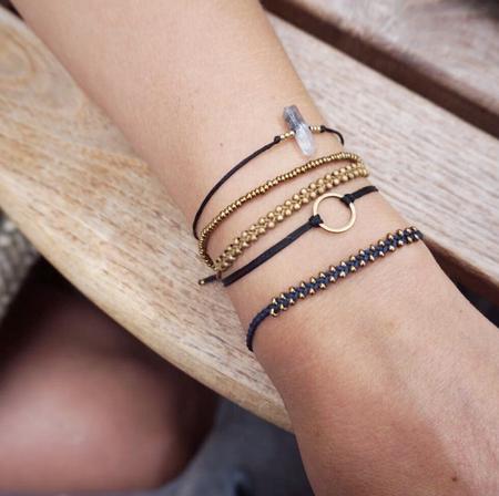 YOOMEE Little Marrakech Bracelet - Silver/Sand