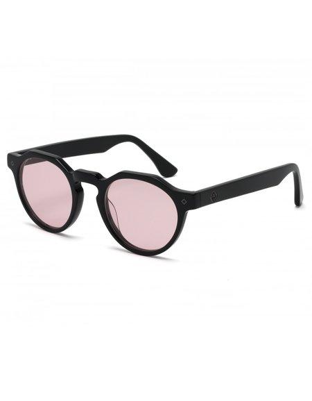 Wonderland Fontana Sunglasses - Gloss Black Rose CZ