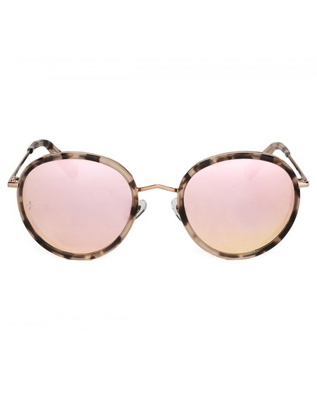 b40123c3ea9a ... Wonderland Montclair Sunglasses - Rose Tortoise Rose Gold