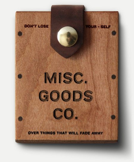 MISC. GOODS CO. HARD CASE - Brown