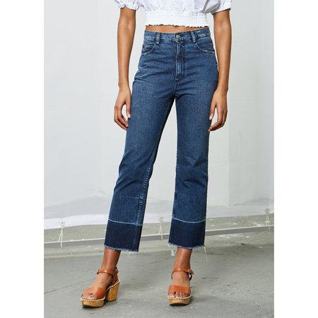 Rachel Comey Slim Legion Pant - Classic Indigo Denim