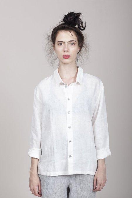 Le Vestiaire de Jeanne Linen Shirt - White