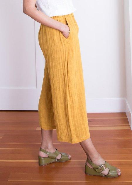 Gravel + Gold Set Pants - Sunflower