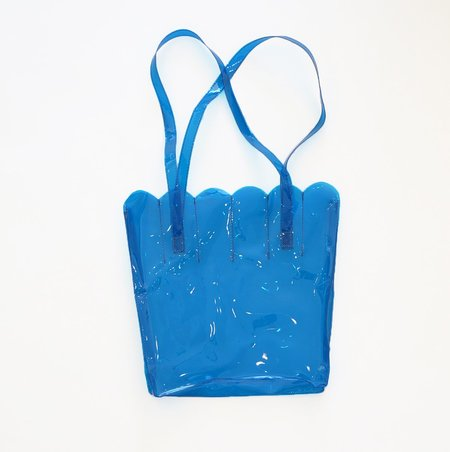 CAB Collection Shell Tote Bag - Blue