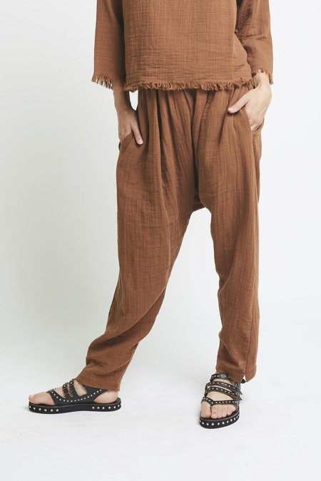 The Podolls Harem Pant - Walnut