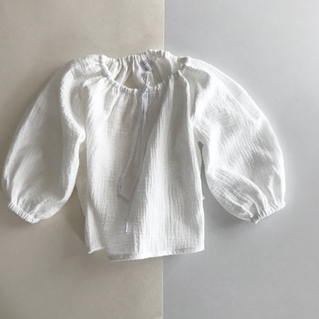 Kids Liilu Blouse - White