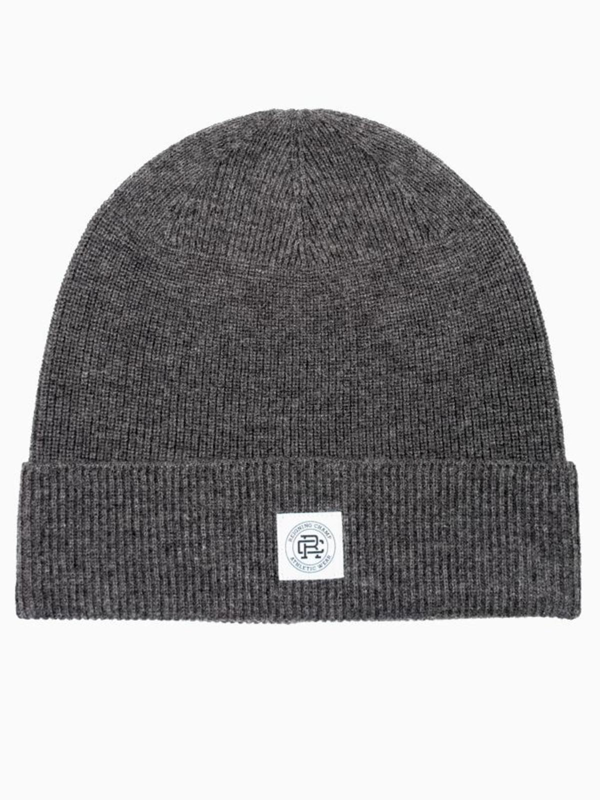 eee7b7733fe Reigning Champ Knit Merino Wool Classic Beanie - Heather Charcoal ...