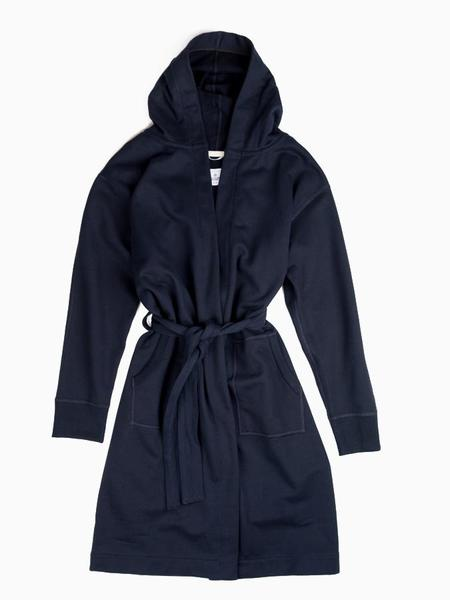 Reigning Champ Midweight Terry Robe - Navy