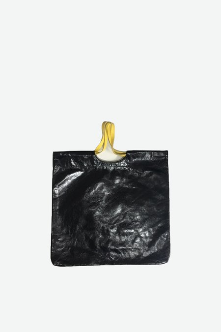 Biis Leather Bin Bag