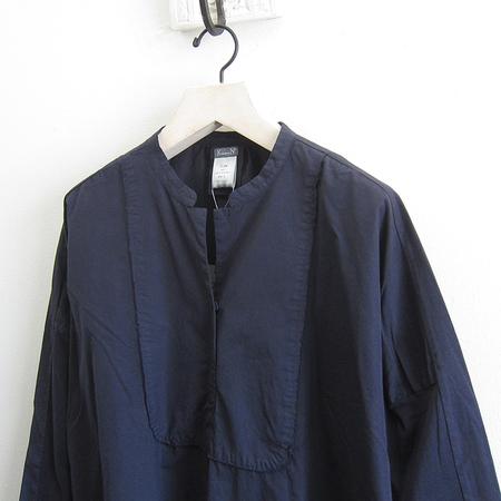 Kristensen du Nord Cotton Dress - Blue Notte