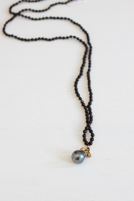 Kakoon #18 Necklace - Ebony