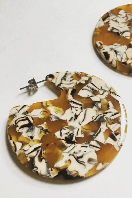 Machete Clare Earrings - Calico