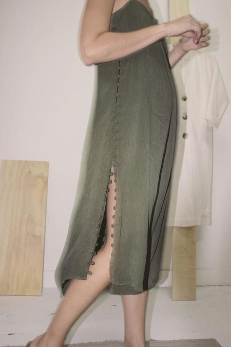 Ajaie Alaie Full Moon Dress 2.0 - Fern