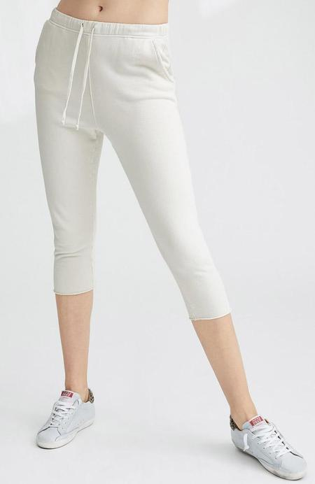 TEE LAB by FRANK & EILEEN Cropped Sweatpants - VINTAGE WHITE
