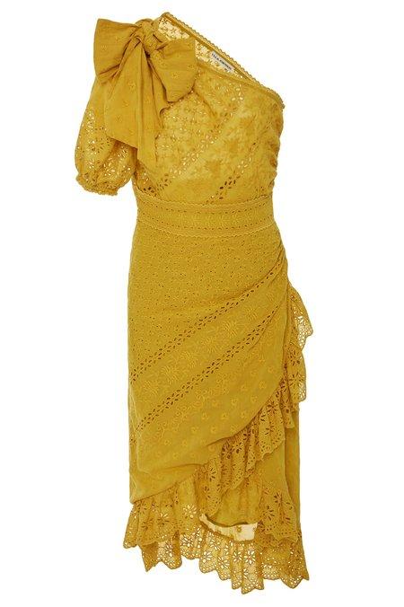 Ulla Johnson Gwyneth Dress - Chartreuse