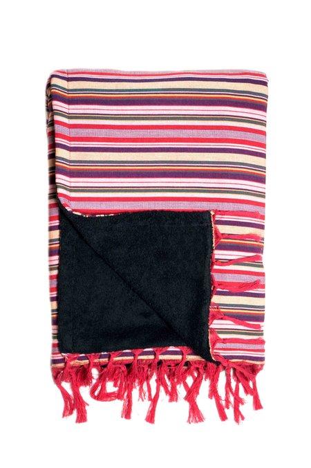 Elina Lebessi Stripe Beach Towel - Multi Red