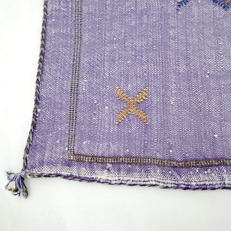 Le Souk Le Souk Cactus Silk Pillow Cover - Lilac 02