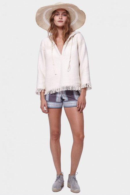 Morgan Carper Dakota Pullover - Ivory
