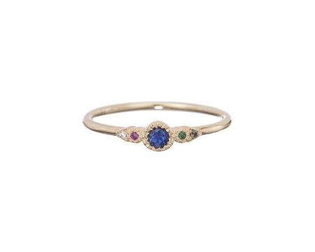 Jennie Kwon Journey Ring - Sapphire