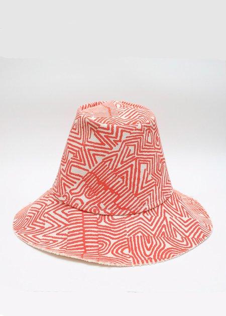 Gravel & Gold Tam Hat - Red Noiz