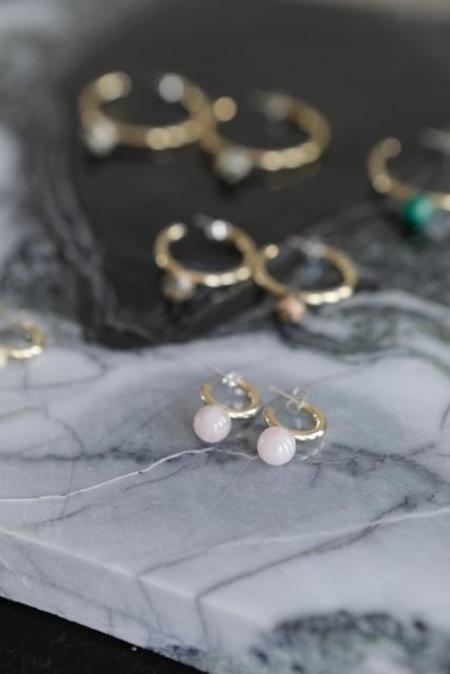 Quarry Small Asha Hoop Earrings