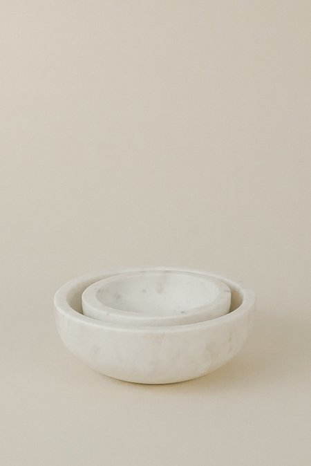 Hawkins NY Small Bowl - White Marble