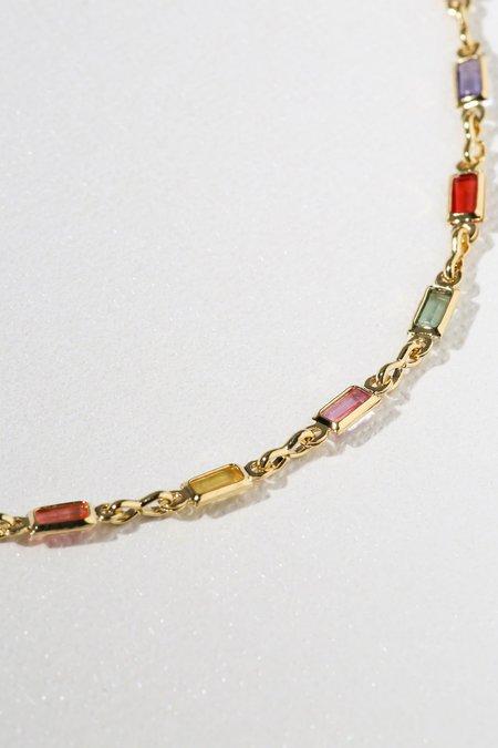 Vanessa Mooney Divine Gemstone Necklace