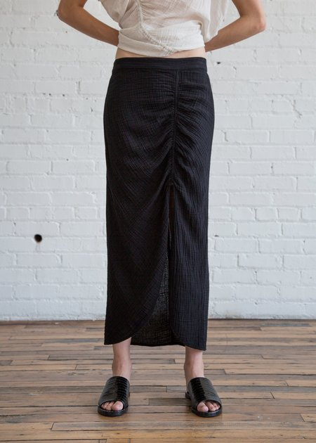 Raquel Allegra Slit Skirt - Black