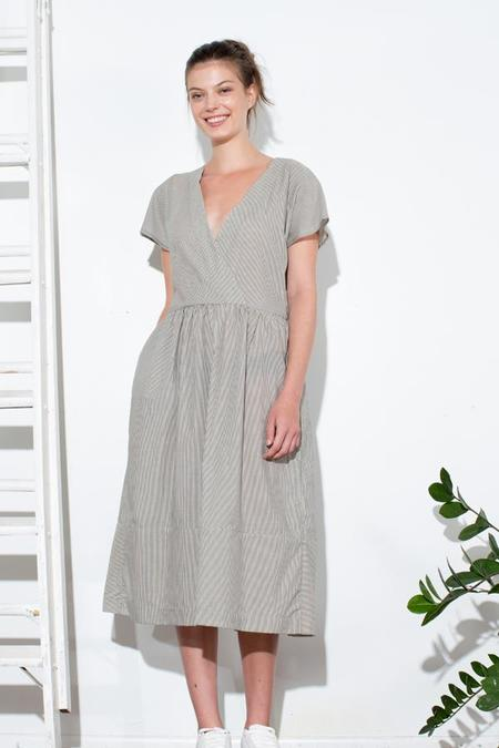 H. Fredriksson Mia Dress - Striped