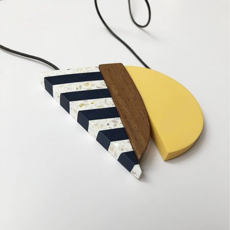 SYLCA Nautical Geo Necklace