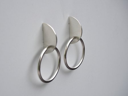 Octave Jewelry Large SLICE Earring - Silver