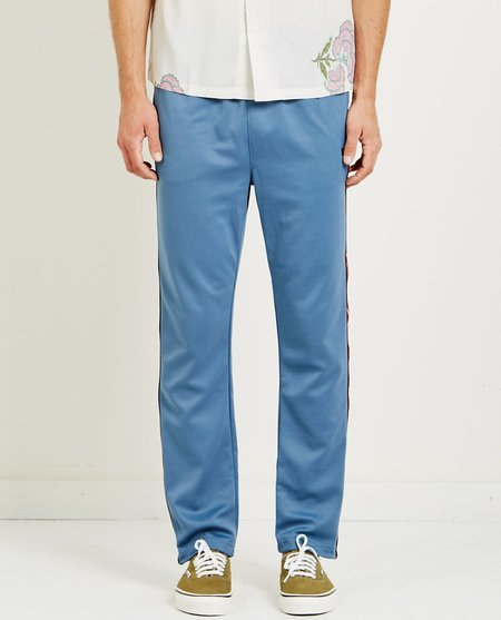 Stussy POLY TRACK PANT - steel blue