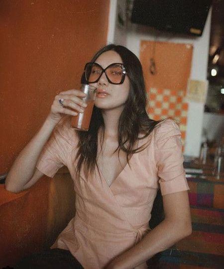 Kristinit Paola Linen Jacket - Pink
