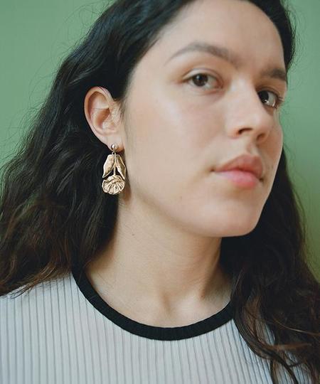 open house projects Pressed Flower Earrings