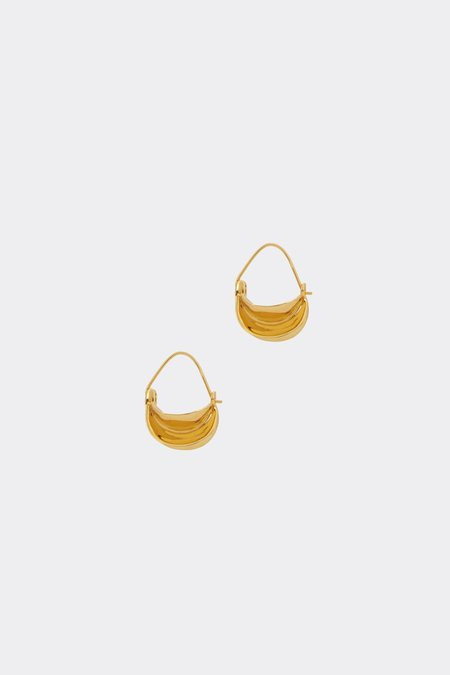 Anissa Kermiche Mini Paniers Dorés Earrings - Gold