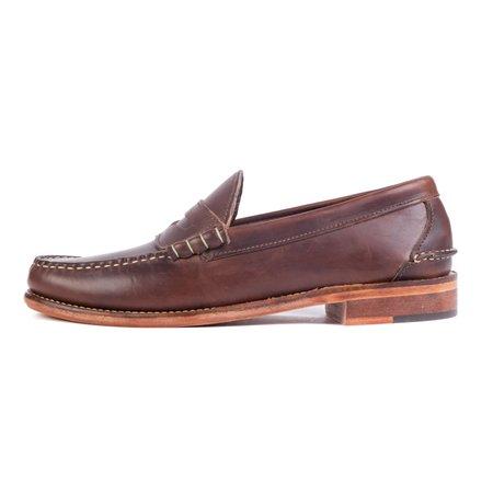 Oak Street Bootmakers Beefroll Penny Loafer - Brown Chromexcel