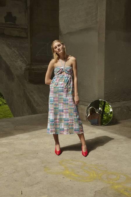 Petersyn Athena Dress - Madras